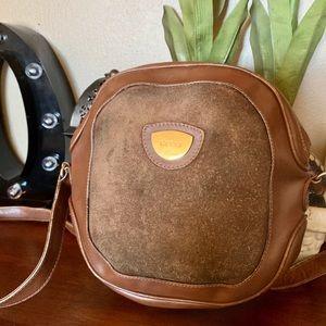 Gucci Vintage 1950's round canteen bag * *RARE*
